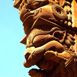 Sculptures at Kathmandu Heritage Tour