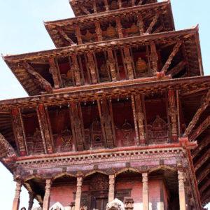 Five Storey Temple at Kathmandu Heritage Site Tour
