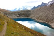 Glacier at Manaslu Circuit Trekking