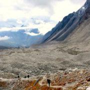 Lharke pass at Manaslu Circuit Trekking