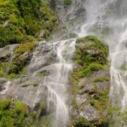 Waterfall at Manaslu Circuit Trekking