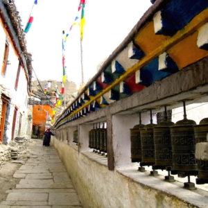 Kagbeni Alley at Annapurna Circuit Trekking