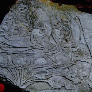 Sculpture at Kagbeni, Annapurna Circuit Trekking