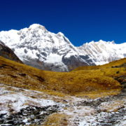 Annapurna South at Annapurna Basecamp trekking