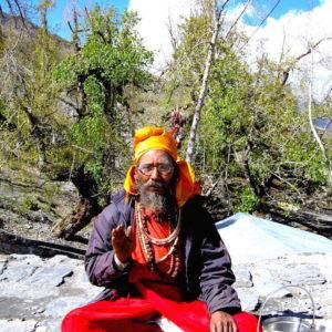 On the way to Annapurna Circuit Trekking