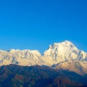 Dhaulagiri Range at Ghorepani Poon HIill Trekking