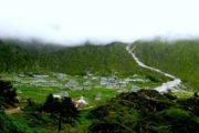 Khumjung valley at Everest Basecamp Trekking