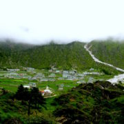 Khumjung valley at Everest Basecamp Trekking