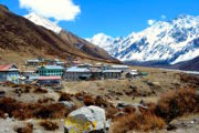 Kyanjin Gompa at Langtang Valley Trek