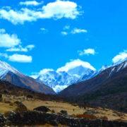 Langtang Range at Langtang Trekking