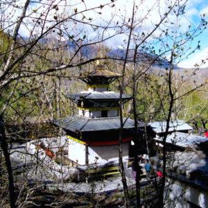 Muktinath temple at Annapurna Circuit Trekking