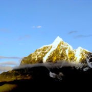 Peak at Everest Basecamp Trek