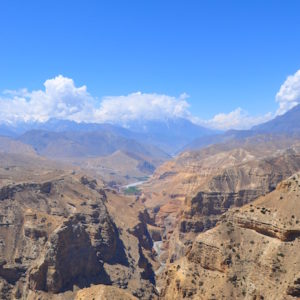 Syangboche VIew Point at Upper Mustang Trekking