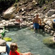 Tatopani near Jhinu at Annapurna Base camp trekking