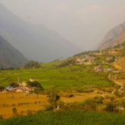 Tsum Village at Tsum Valley Trekking
