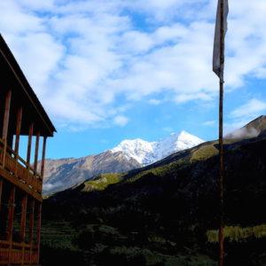 Upper Pisang at Annapurna Circuit Trekking