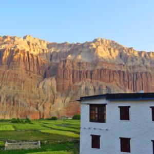 Chusang at Upper Mustang Trekking