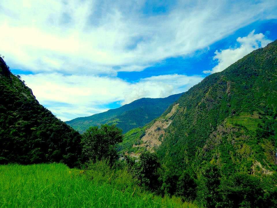Simigaun at Rolwaling Trekking
