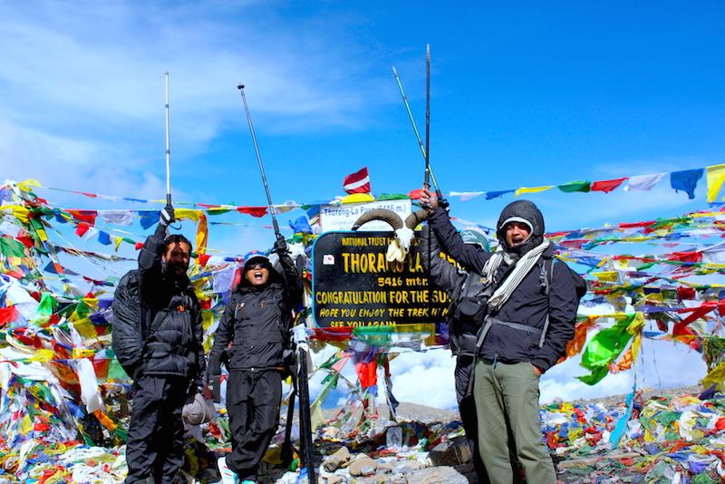 Thorang La Annapurna Circuit Trekking
