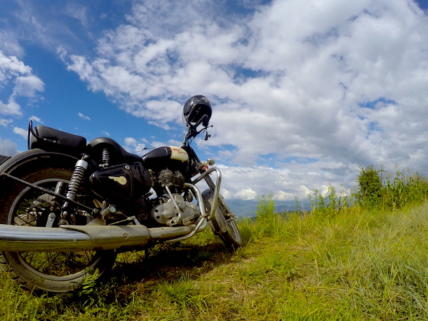 Bullet ride to Nagarkot