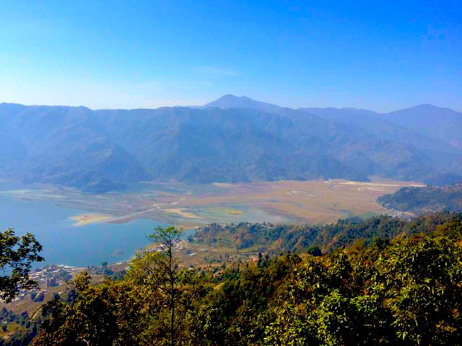 HIke from Sarankot Pokhara