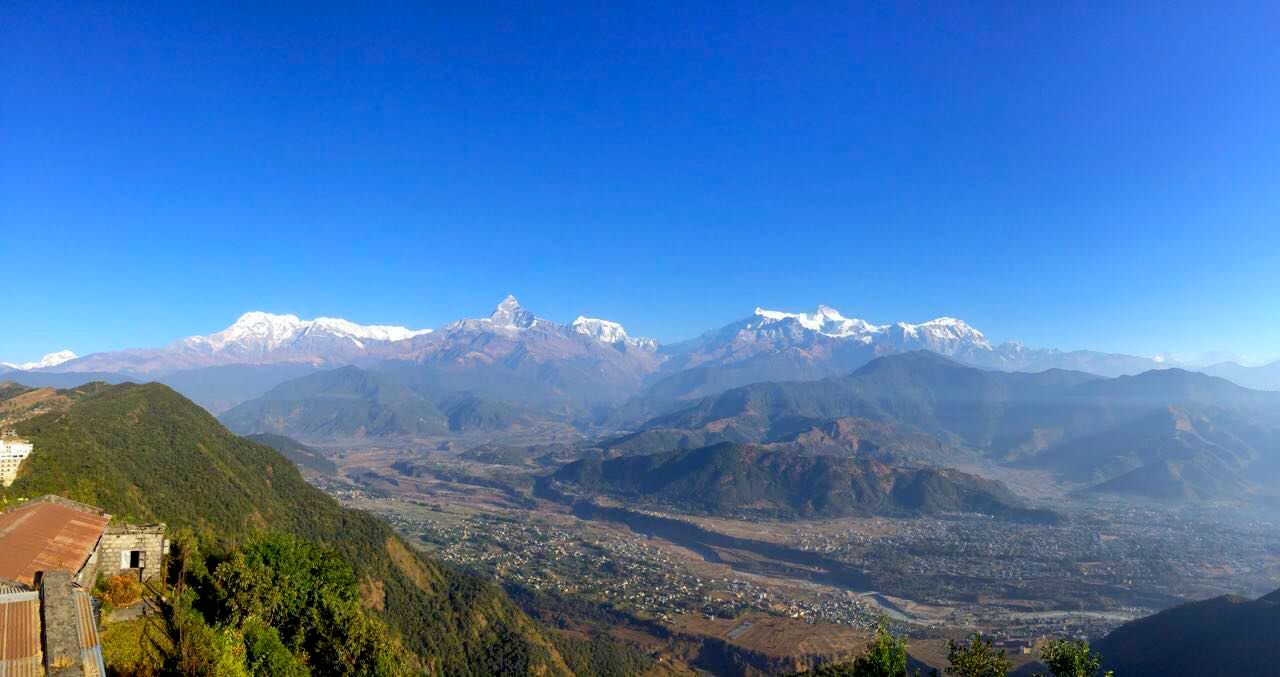 Pokhara Sarankot View Point