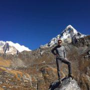 Trekkers at Khopra Trek