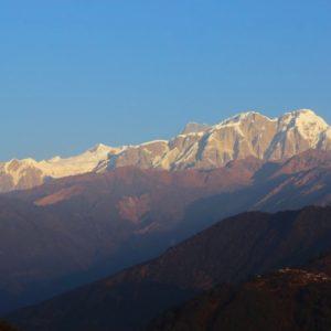 Annapurna Range from Ghalegaun homestay