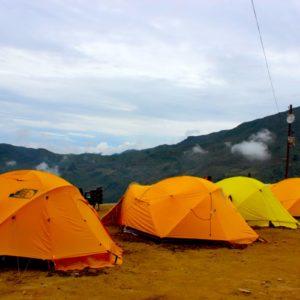 Camping Trip at Cherdung Nepal