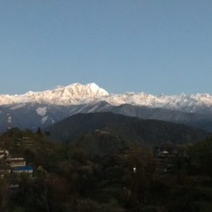 Morning view from Ghalegaun