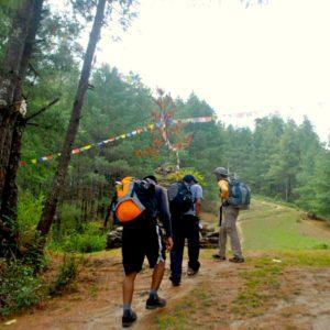 Hiking from Jiri to Cherdung