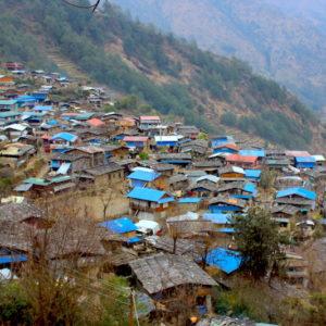 Laprak Village Earthquake recovery trip