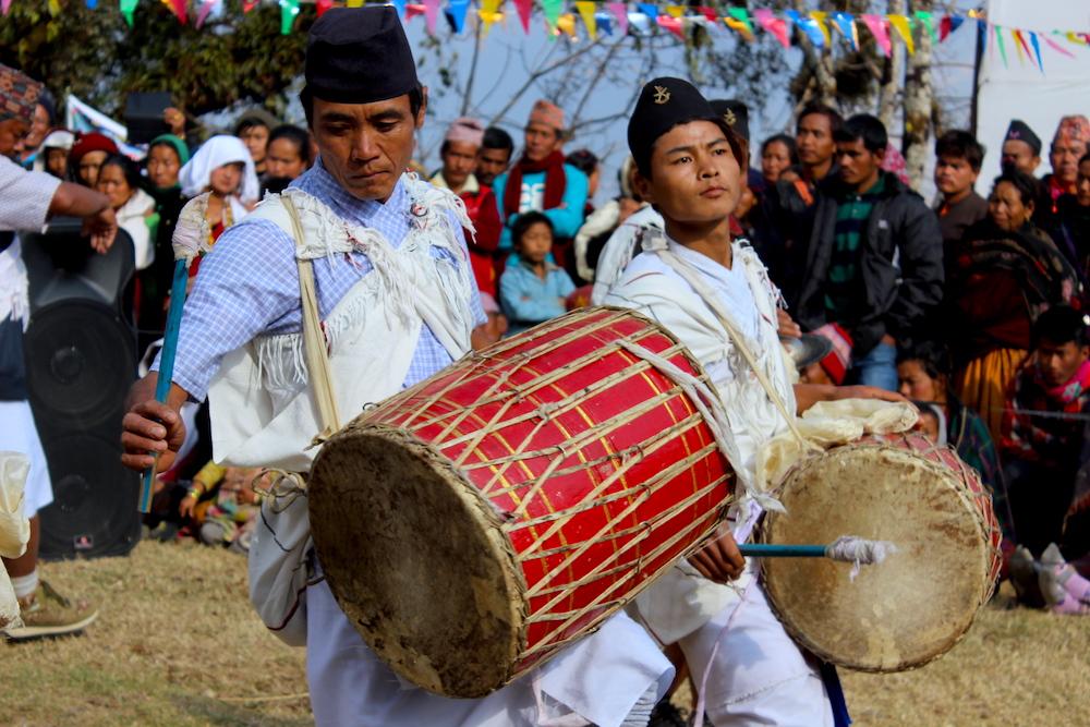 Locals of Ghyachhok village