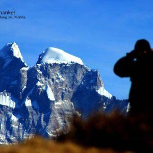 Mount Gaurishankar view from Cherdung
