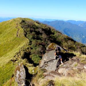 Ridge walk at Mardi Himal Trek