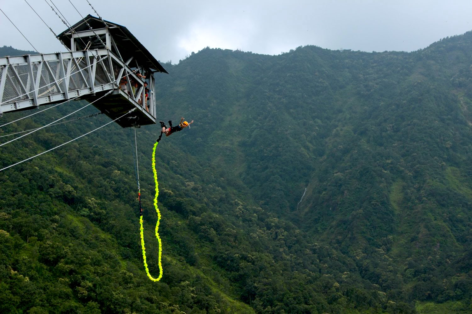 Bungy in Pokhara