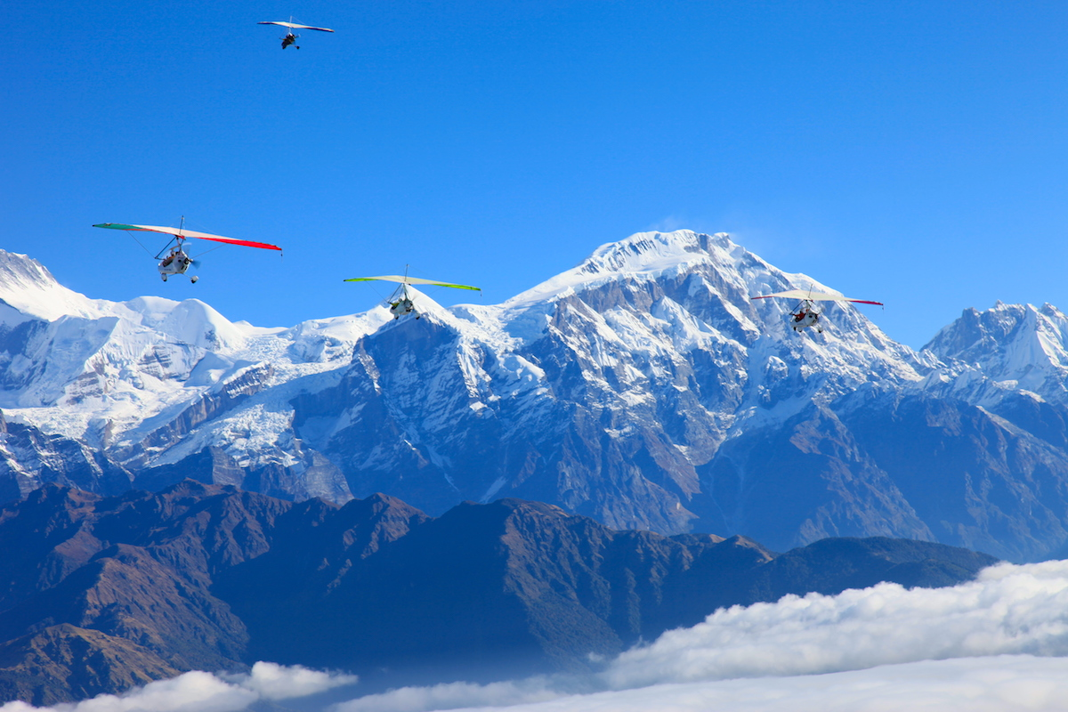 Things to do in Pokhara- Ultra Light Flight
