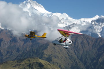Ultra Light Flight Pokhara