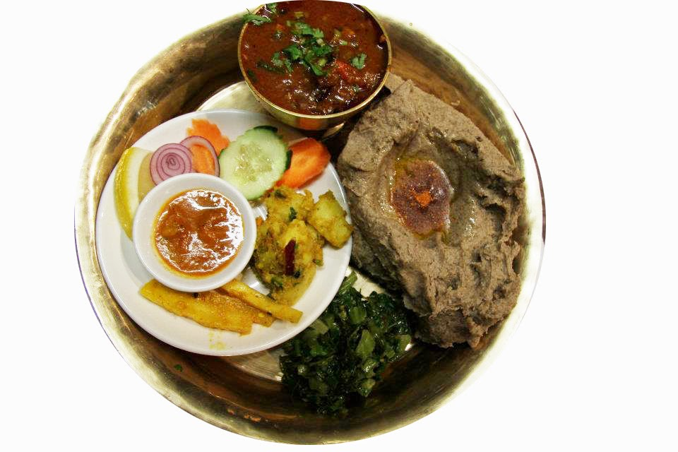 Dhido Nepalese Food