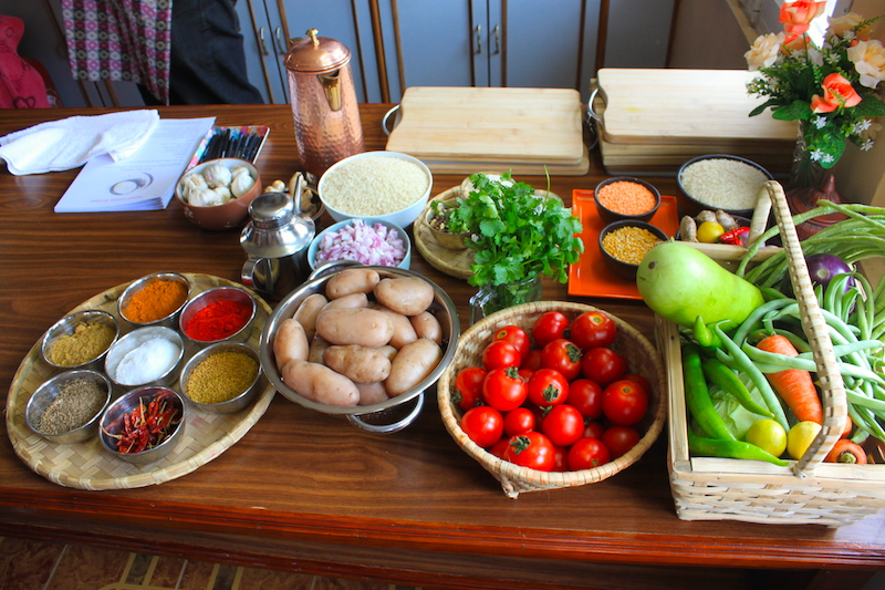 Cook like a nepali learn to make nepali foods in nepal beyul treks you will be provided a recipe and briefed on local ingredients used to cook delicious nepali food forumfinder Choice Image