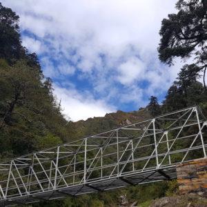 Bridge at Pangsang Pass