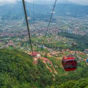 View from Chandragiri, Kathmandu Custom Tour