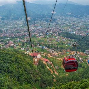 View from Chandragiri, Kathmandu Custom Tour