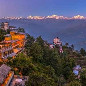 Nagarkot on a clear day, Tours around Kathmandu