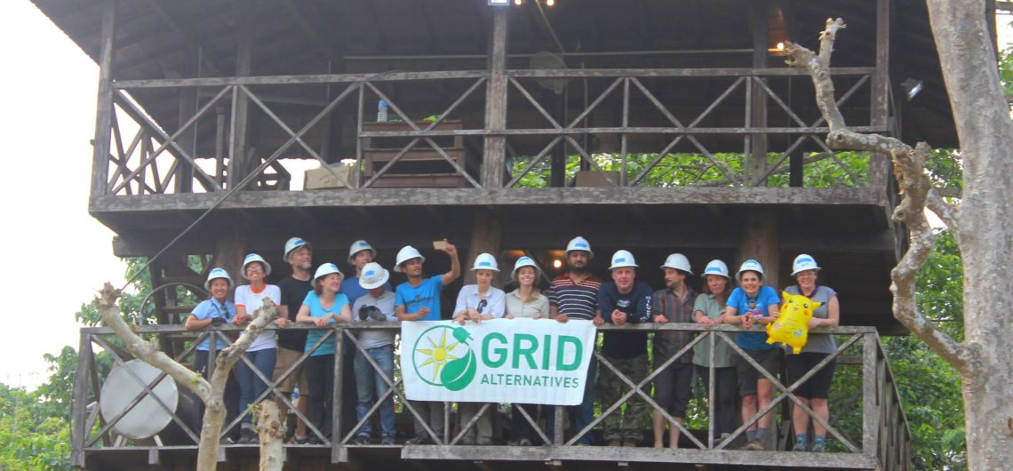 Grid Alternatives and all volunteers at the tower