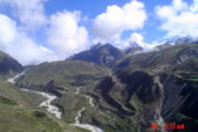 Nzompa glacier in Nepal