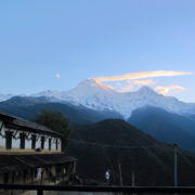 Annapurna Massif Viee on the trek