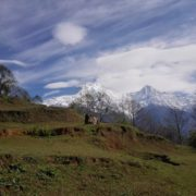 Annapurna Range view from Ghandruk