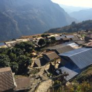 Sikles Trek village on the way