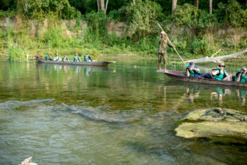 Chitwan Canoeying